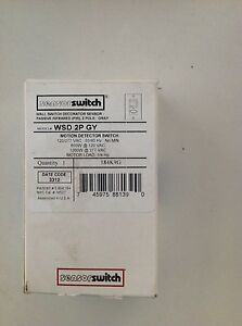Sensor Switch Occupancy Sensor Wsd 2p gy