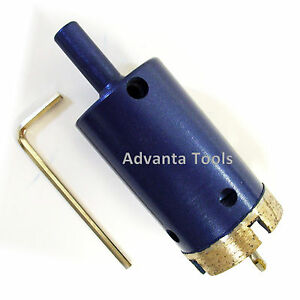Premium Blue Diamond Wet Core Drill Bit For Porcelain Granite Marble Stone Tile