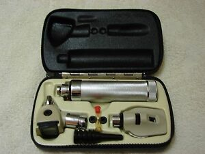 Welch Allyn Diagnostic Otoscope Ophthalmoscope Set