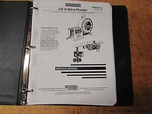 Lincoln Electric Ln 9 Wire Feeder Service Manual