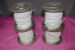Lot Of 4 22 2 Cmr Wire Spools 500 Ft Ea 2000 Ft Total m3975