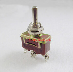 20pcs Momentary Toggle Switch 3 Pin Spdt on off on 15a 250vac 20a 125vac