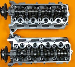 New 2 Ford Lincoln 4 6 5 4 Sohc 3 Valve V8 Cylinder Heads 3l3e