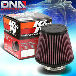 K n Kn Universal Round Tapered Cotton Gauze 3 Inlet Air Filter 5 Height Ru 3580