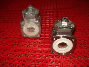 Akron Heavy Duty Swing Out Valve 1 Body Only 700483 Ball Valve Ss Ball New