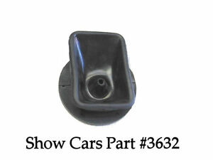 1963 Chevy Chevrolet Impala Ss Console 4 Speed Rubber Shifter Shift Boot 3841794