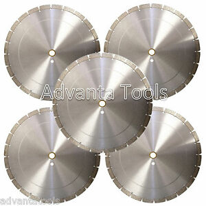 5pk 14 Diamond Blades For Brick Block Concrete Masonry Stone 14mm