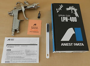 Anest Iwata Lph400 Lph 400 164lv 1 6mm Spray Gun Without Cup From Japan