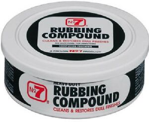 Cyclo 2 Pack No 7 10 Oz Rubbing Compound Heavy Duty