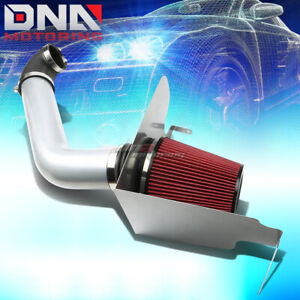 For 04 08 Ford F150 P2 5 4 V8 Silver Polished Silver Cold Air Intake Heat Shield