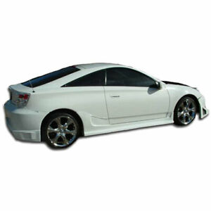 Blits Side Skirts Rocker Panels 2 Piece Fits Toyota Celica 00 05 Duraflex