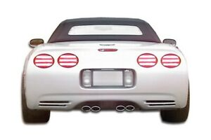 C4 C5 Conversion Rear Bumper Body Kit 1 Pc For Chevrolet Corvette 84 9