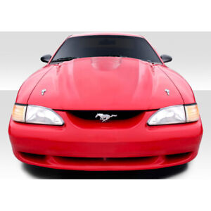 Cobra R Hood Body Kit 1 Pc For Ford Mustang 94 98 Duraflex