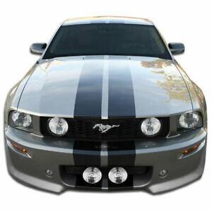 Eleanor Front Bumper Cover 1 Piece Fits Ford Mustang 05 09 Duraflex