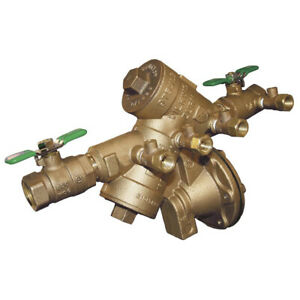 Zurn 1 975xl2 Reduced Pressure Backflow Preventer 1 inch