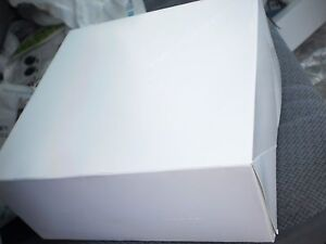 White Cake bakery Boxes 300 Count Each Now Lot Of Five 05 Boxes 9x9x4