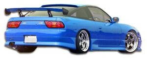 S13 Gp 1 Side Skirts Body Kit Rocker Panels 2 Pc For Nissan 240sx 89 9