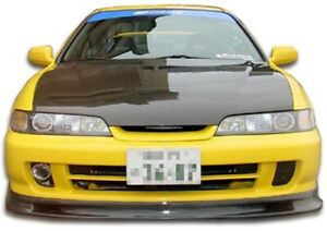Jdm Spoon Style Front Lip Under Spoiler Air Dam 1 Piece Fits Acura Integra