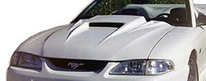 Spyder 3 Hood Body Kit 1 Pc For Ford Mustang 94 98 Duraflex