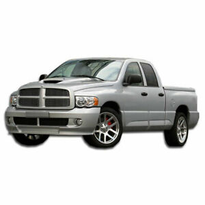 Srt Look Front Bumper Cover 1 Piece Fits Dodge Ram 02 05 Duraflex