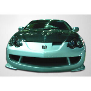 Type M Front Bumper Cover 1 Piece Fits Acura Rsx 02 04 Duraflex