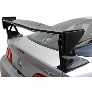 Type M Wing Trunk Lid Spoiler 1 Piece Fits Acura Rsx 02 06 Carbon Creations