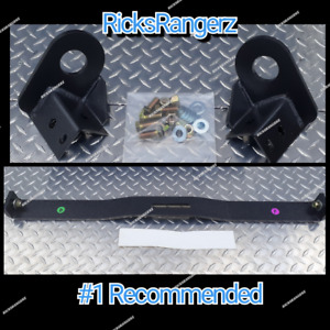 83 97 Ford Ranger Raised Crossmember Transmission Radius Arm Bagged Lowering Kit