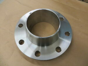 Ideal 4 B 16 150 Stainless Steel 304e Weld Neck Flange New