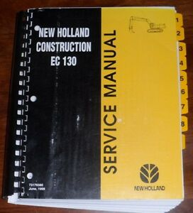 New Holland Ec130 Hydraulic Excavator Service Manual
