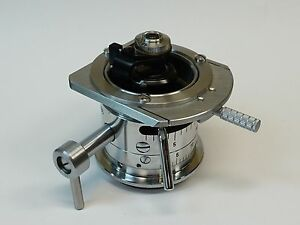 Reichert Zetopan Microscope Condenser With 0 95 Na Flip up Lens Great Condition