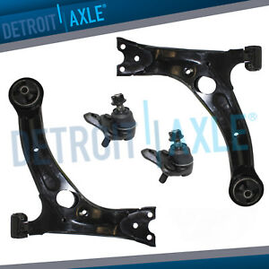 Front Lower Control Arms Ball Joints Pair For 2003 2013 Toyota Corolla