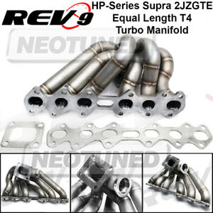 Hp series For Supra 2jzgte T4 Stainless Steel Equal Length T4 Turbo Manifold