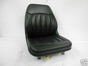High Back Black Seat Bobcat 463 542 543 642 643 742 743 843 t190 Skid Steer ev