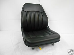 High Back Black Seat Bobcat S130 s150 s160 s175 s185 s205 s220 skid Steer ev