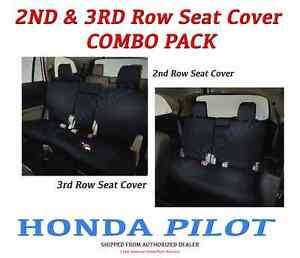 Genuine Oem Honda Pilot 2nd 3rd Row Seat Covers For Lx Ex Models 2016 2019
