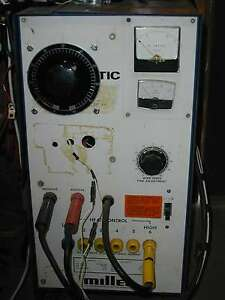 150amp 0 50 Volts Power Supply miller Millermatic 35 Mig Welder With Variac