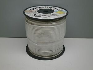 500ft Consolidated 892 9 Hookup Electronic Wire Ul 1015 12 gauge White 105 c 30m