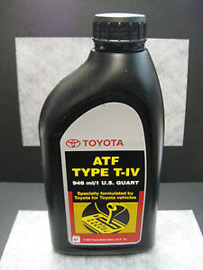 Type T Iv Automatic Transmission Fluid For Toyota Lexus Oem 1 Quart Ships Fast