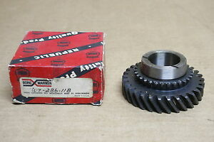 Nors Transmission 2nd Speed Gear 1964 Ford 223ci 3 Speed 3 5 8 C4az 7102 B