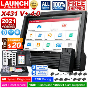 2019 Version Launch X431 V Scanpad Auto Diagnostic Scanner Tool Tablet Global
