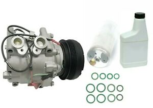 Ryc Reman Ac Compressor Kit Gg560 Fits Honda Cr V Civic Civic Del Sol