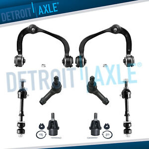Brand New 8pc Complete Front Suspension Kit For Ford F 150 Truck 2wd Only