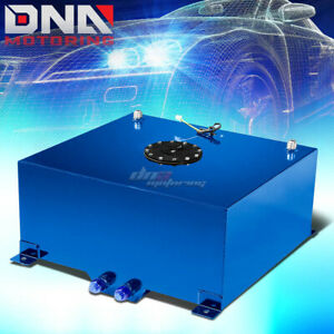 20 Gallon Light Performance Blue Coated Aluminum Fuel Cell Tank Level Sender