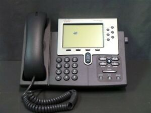 Cisco Systems Ip Phone 7961 Series Telephone Lcd Voip Display Lot Of 9