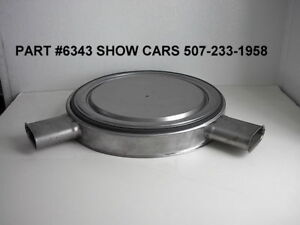 1962 409 Chevy Chevrolet Impala Ss 2x4 Air Cleaner With Original Carbs Intake
