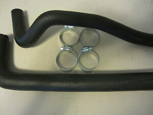 Jeep Wrangler 1987 1990 Gas Tank Filler Vent Hoses W Clamps 15 Gal Tank