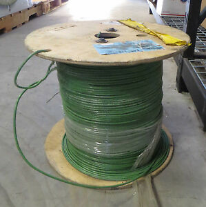 New Stranded Copper Wire 10 Awg Thhn Thwn 2500 Ft cable Green