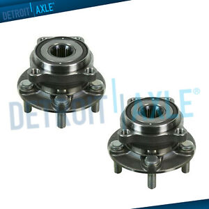 New 2 Front Wheel Hub Bearing Assembly For 2005 2014 Subaru Impreza Forester