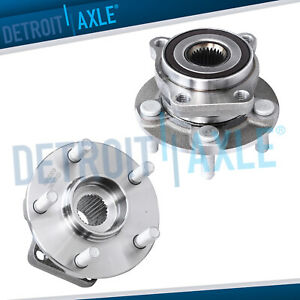 2 Front Wheel Hub Bearing Assembly For 2005 2014 Subaru Impreza Forester