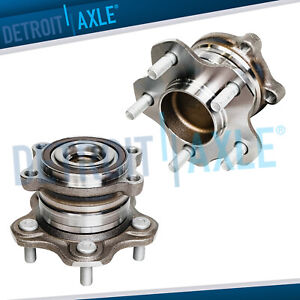 2 Rear Wheel Bearing Hub Fits 2009 2010 2011 2018 Nissan Altima Maxima Fwd